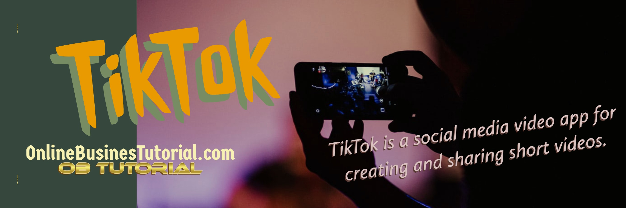 TikTok is the destination for short-form mobile videos. Our mission is to capture and present the world's creativity, knowledge, and precious life moments